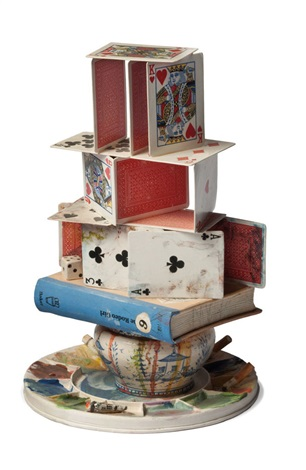 artists house of cards by richard shaw