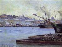 götesborgs hamn by gustaf albert