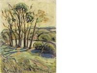 paysage by serge poliakoff