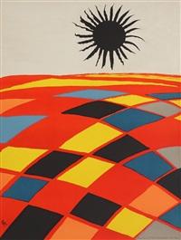 black sun by alexander calder