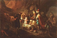 the adoration of the shepherds by german school-frankfurt (18)