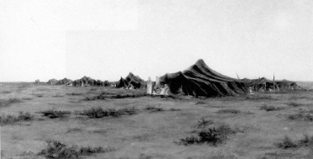 el goléa campement berbère by alphonse léon germain thill