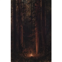into the woods by jules tavernier