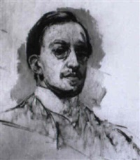 portrait eines herrn by walter bondy