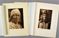 a blackfoot woman; kills in timber (2 works) by edward sheriff curtis