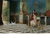 in a roman palace by ettore forti