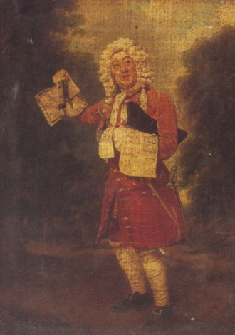portrait of mr munden the actor as sir francis gripe by samuel de wilde