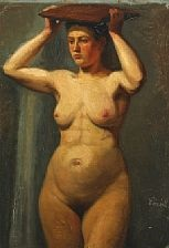 portrait of a woman by wilhelm pacht