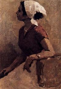 le corsage rouge by igor vesiolkine