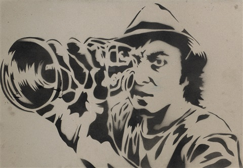 self portrait by mr brainwash