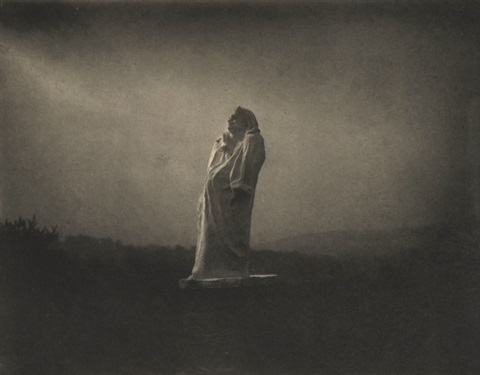 balzac toward the light midnight by edward steichen