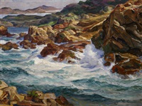 point lobos (california highway) by paul dougherty