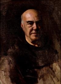 retrato del p. patricio panadero (estudio) by fernando labrada