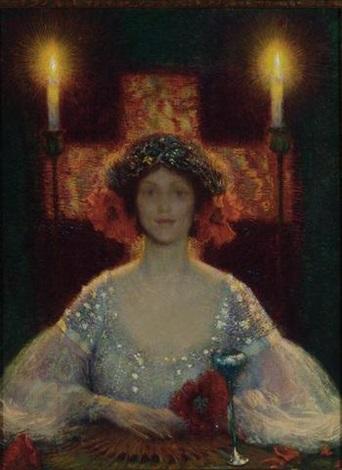 sarah bernhardt costumed as princess lointaine by philip leslie hale