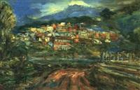 mountain city of jiufen by jiang ruikeng