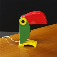 tucano (toucan) lamp by old timer ferrari