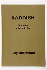 kaddish, mindebøn efter min far (portfolio of 4 w/ pamphlet) by susanne hoeg butcher