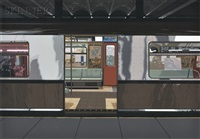 subway (from urban landscapes iii) by richard estes