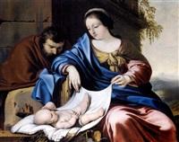 le repos de la sainte famille by louis de la hyre