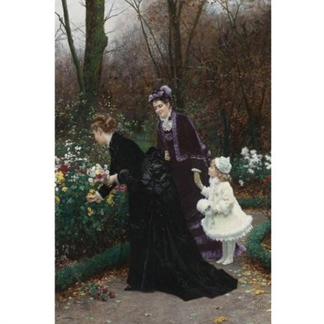 le jardin de la marraine by marie françois firmin girard