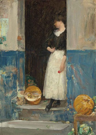 la fruitière by childe hassam