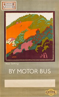 ascot by motorbus (+ another; 2 works) by gregory brown