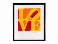 love (from book of love) by robert indiana