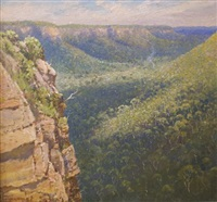 blue mountains by william lister-lister