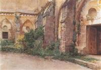 iglesia en ruinas by josé llaneces