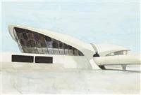 twa terminal, kennedy airport by enoc perez