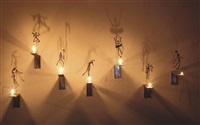7 bougies - les ombres (in 7 parts) by christian boltanski
