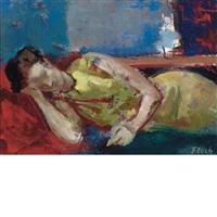 midday rest by joseph floch