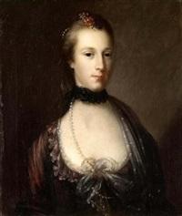 portrait of a lady by john astley