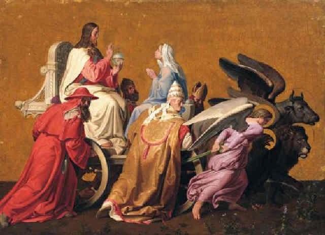 der triumph christi by josef von führich