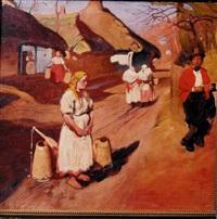scena na wsi by wlodzimierz tetmayer