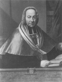 portrait de l'abbé d'héliot by jean-pierre le jeune rivaltz