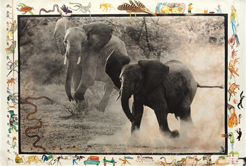 buffalo springs kenya by peter beard