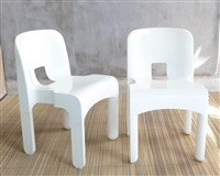 4867 stacking chair (set of 6) by joe columbo