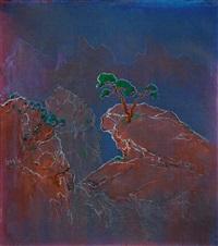 landscape 山水 by zheng zaidong