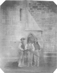 study of 3 carpenters by john dillwyn llewelyn