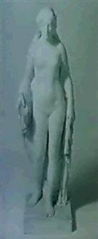weibliche standfigur. by heinrich wadere