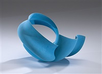 untitled blue sculpture by wouter dam