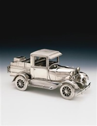 jim beam - model a ford pick-up truck by jeff koons