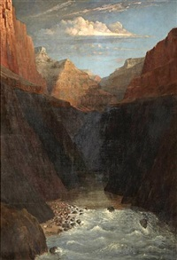 in the grand canyon by frederick samuel dellenbaugh