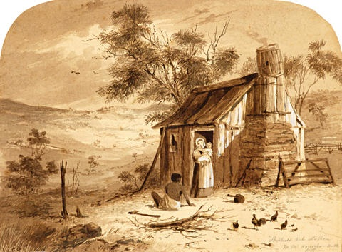 shepards out station near mt horrocks north station 4 others 5 works by samuel thomas gill