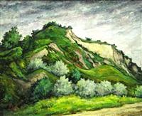 landscape of balcic by mihai cotovanu