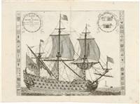 nave di primo rango (from isolario) by vincenzo maria coronelli