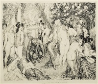 my dear, the gods appear to think it's necessary by norman alfred williams lindsay