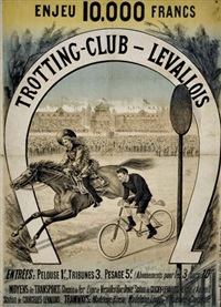 trotting-club-levallois by posters: sports