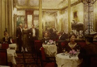 cafe society by victor guerrier
